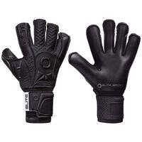 Elite Sport Goalkeeper Gloves Black Solo Size 7 Black