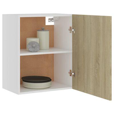 vidaXL Hanging Cabinet Sonoma Oak 50x31x60 cm Chipboard