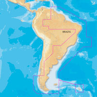 NAVIONICS PLATINUM PLUS SOUTH AMERICA EAST ON SD/MICRO SD