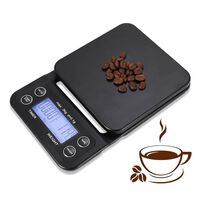 Coffee Scale and Timer Digital Kitchen food scale