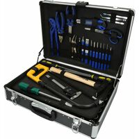 BRILLIANT TOOLS 143 Piece Universal Tool Case Steel