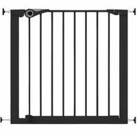 Noma Safety Gate Easy Pressure Fit 75-82 cm Metal Black 94313