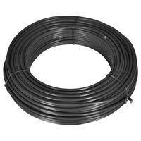 vidaXL Fence Line Wire 80 m 2.1/3.1 mm Steel Grey