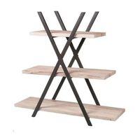 Urban Living - Industrial Pyramid Cabinet - 3 Shelves - 101 Cm