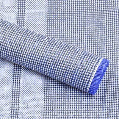 vidaXL Tent Carpet 450x300 cm Blue