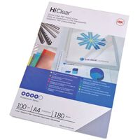 GBC Binding Cover Set HiClear  A4 240 Microns