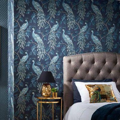 DUTCH WALLCOVERINGS Wallpaper Lazarro Blue