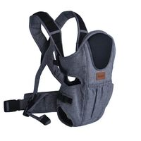 Baninni 2-in-1 Baby Carrier Sacco Prestigio Blue and Black