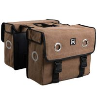 Willex Bicycle Panniers 46 L Brown
