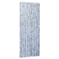vidaXL Insect Curtain Silver 90x220 cm Chenille