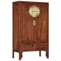 vidaXL Wardrobe 100x50x175 cm Solid Acacia Wood