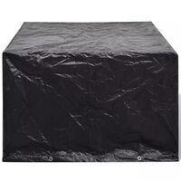 vidaXL Garden Furniture Cover 4 Person Poly Rattan Set 8 Eyelets 113 x 113cm