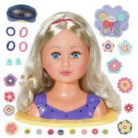 BABY Born Sister Styling Doll Head 27 cm