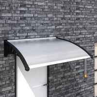 vidaXL Door Canopy 120x100 cm PC