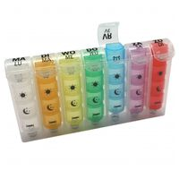 Parcura Pill Box Four Moments for One Week 84860