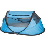 DERYAN Pop-up Travel Cot BabyBox with Mosquito Net Blue