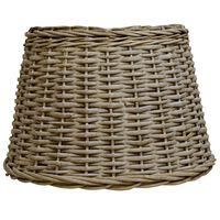 vidaXL Lamp Shade Wicker 50x30 cm Brown