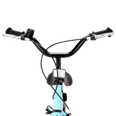 vidaXL Kids Bike 14 inch Black and Blue