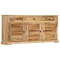 vidaXL Side Cabinet 170x38x80 cm Solid Mango Wood