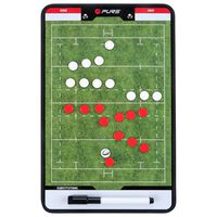 Pure2Improve Double-sided Coach Board Rugby 35x22 cm P2I100670
