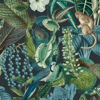 DUTCH WALLCOVERINGS Wallpaper Amazon Multicolour