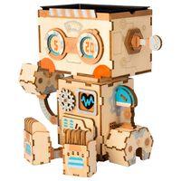 Robotime Flower Pot Building Kits Robot