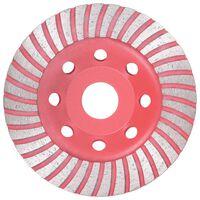 vidaXL Diamond Grinding Cup Wheel with Turbo 115 mm