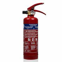 Smartwares Powder Fire Extinguisher BB1 1 kg Class ABC Steel 10.018.56