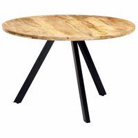 vidaXL Dining Table 120x76 cm Solid Mango Wood