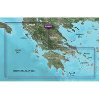 GARMIN VEU490S GREECE WEST  COAST AND ATHENS BLUECHART G3