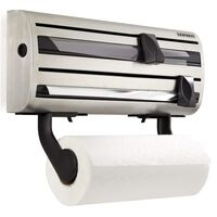 Leifheit Wall-mounted Roll Holder Parat Royal Grey 25660