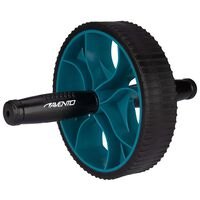 Avento Ab Roller Power Black and Blue